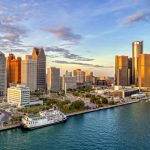 Detroit waterfront